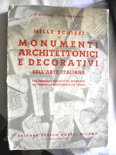 Diegoli e Braggio MILLE SCHIZZI DI MONUMENTI ARCHITETTONICI E DECORATIVI Hoepli
