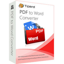 PDF to Word Converter Tipard dt.Vollversion 1 Jahr -  Lizenz ESD Download