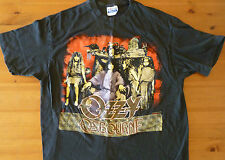 Ozzy Osbourne 88 89 Tour Concert T-Shirt No Rest For The Wicked size XL VINTAGE