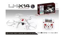 LH-X14DV 2.4G 6Axis GYRO FPV Video Camera RC One Key Return Headless Mode- WHITE