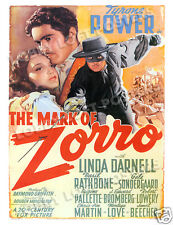 THE MARK OF ZORRO LOBBY CARD POSTER OS-A 1940 TYRONE POWER LINDA DARNELL