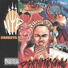 CD GANKSTA NIP  PSYCHOTIC GENIUS  RAP-A-LOT 1996 RARE!!
