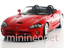 MAISTO 31632 2003 03 DODGE VIPER SRT-10 1/18 DIECAST RED