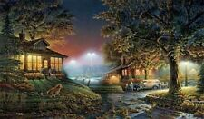 Terry Redlin Highlight of the Neighborhood Signed and Numbered Print