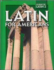 Latin for Americans, Level 2, Student Edition, McGraw-Hill Education, Good Books