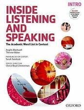 NEW - Inside Listening and Speaking Intro Student Book
