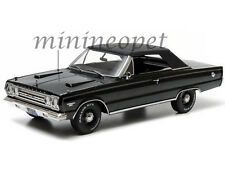 GREENLIGHT 19007 1967 67 PLYMOUTH BELVEDERE GTX CONVERTIBLE 1/18 DIECAST BLACK