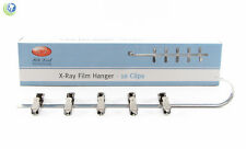 NEW DENTAL X-RAY FILM HANGER 10 CLIPS FOR XRAY FILM DIP TANK DEVELOPER 451-0010