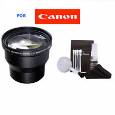 3.5X TELEPHOTO ZOOM LENS FOR CANON EOS REBEL T1 T2 T3 T4 T5 T6 SL1 SL100 XT XS