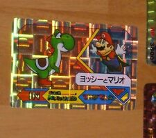 SUPER MARIO WORLD BANPRESTO CARDDASS CARD PRISM CARTE 2 NITENDO JAPAN 1992 **