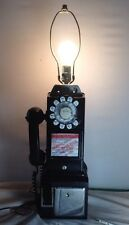 Antique Western Electric 3-Slot 233GT Payphone Light Lamp Vintage Original Decor