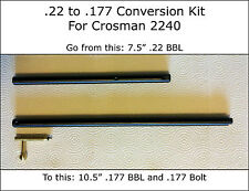 Crosman 2240 Conversion Kit = Go from .22 to .177 = Also Works On 1322 P1322