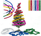 Shining 2.3M Tinsel Garland Christmas Tree Decoration Metallic Foil Colorful