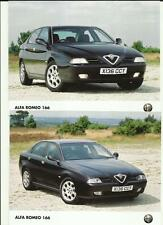 ALFA ROMEO 166 PRESS PHOTO 'SALES BROCHURE' 1994  THREE OF