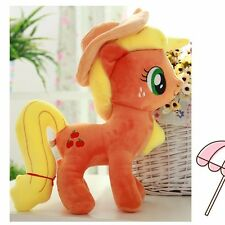 30CM Large My Little Pony Apple Jack Stuffed Soft Plushed Toy Doll Kids Gift E