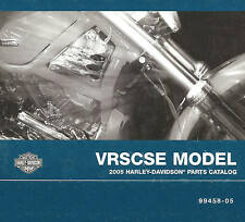 2005 HARLEY-DAVIDSON VRSCSE V-ROD PARTS CATALOG MANUAL -VRSCSE VROD