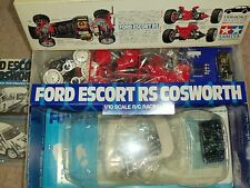Tamiya FORD ESCORT RS COSWORTH 1/10 RC kit == NIB == TA01