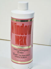 Window Wax Cleans & Polishes Windows Keeps Them Clean New