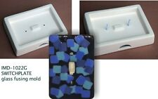 Imd-1022G Switchplate - glass fusing mold/ New