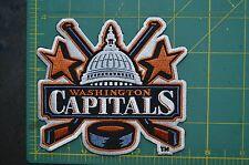 """Washington Capitols NHL Hockey Jersey Jacket Crest Throwback 4"""" Patch"""