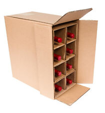 8 Bottle Wine Shipping Box SpiritedShipper.com boxes are UPS & FEDEX Approved