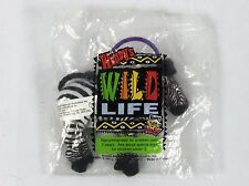 Wendy's Kid Meal Wild Life Zebra 2000