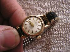 Vintage Croton Nivada Grenchen Sea Nymph Automatic Women's 17 Jewels