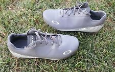 Oakley Cipher 2 Nanospike Golf Shoes Gray Size 8