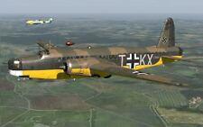 Vickers Wellington British Medium Bomber Aircraft Wood Model Replica Small