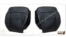 2004-2008 Ford F150 FX4 4X4 Driver Passenge Side Bottom Leather Seat Cover Black