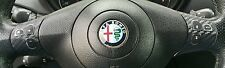 ALFA ROMEO 147 156 GT ADESIVI STICKER DECAL COMANDI VOLANTE CARBON LOOK TUNING