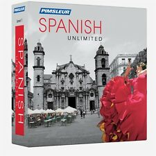 NEW Pimsleur Unlimited SPANISH Language Course 30 Lessons