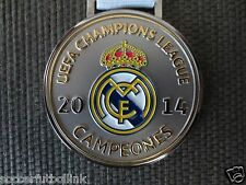 UEFA Champions League Medal Real Madrid Champions Lisbon Portugal 2014 10th Cup