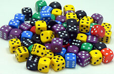 14mm Assorted Dice - Pack of 20 Dice - D6 RPG