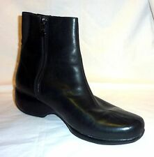 Rockport DMZ Size 10 W Leather Women's Winter Boots Booties Warm Snow BLACK GC