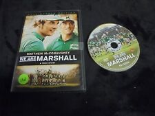 """USED DVD MOVIES """"We Are Marshall"""" A True Story FULL-SCREEN EDITION  (G)"""