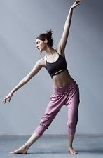 NWT $88 Free People Movement Genie Pant In Dusty Orchid M.