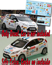 Decal 1:43 Yeray Lemes - FORD FIESTA R2 - Rally PORTUGAL 2011