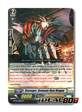 Cardfight Vanguard  x 4 Revenger, Detonate Heat Dragon - G-BT09/028EN - R Mint