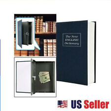 Large Dictionary Hidden BOOK SAFE Combo Lock Secret Inner Security Cash Box OH