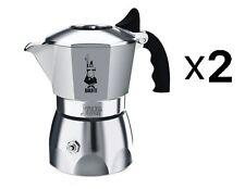Bialetti 4 Cup Brikka Espresso Maker - Aluminum Stovetop Coffee Maker (2-Pack)