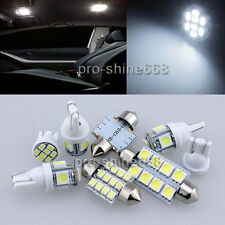 8PCS Xenon White LED Lights Interior Package Kit for Ford Mustang 05-09