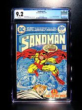 COMICS: DC: The Sandman #1 (1974), 1st Bronze Age Sandman - CGC 9.2