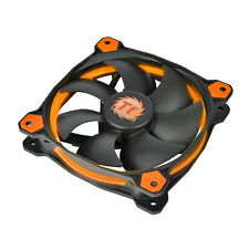 THERMALTAKE riing 12 LED ORANGE - 12cm Arancione Anello LED CASE PC FAN - 40,6 CFM
