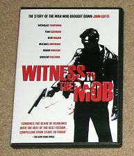 Witness To The Mob DVD 2-Disc Tom Sizemore