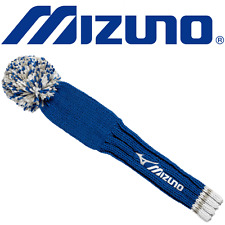 """NEW 2017"" MIZUNO POM POM 460cc DRIVER HEADCOVER / KNITTED GOLF HEADCOVER"