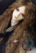 Bjd Doll Wig 1/3 8-9 Dal Pullip AOD DZ AE SD DOD LUTS Dollfie brown Toy Hair