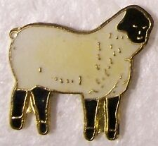 Hat Lapel Pin Scarf Clasp Animal Sheep NEW