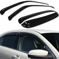 SUN/RAIN GUARD SHADE DEFLECTOR WINDOW VISOR CHEVY SILVERADO 07-14 CREW CAB 4 PCS