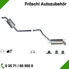 VW T4 Bus Kasten Pritsche 2.5 TDI Abgasanlage komplette Auspuffanlage Auspuff